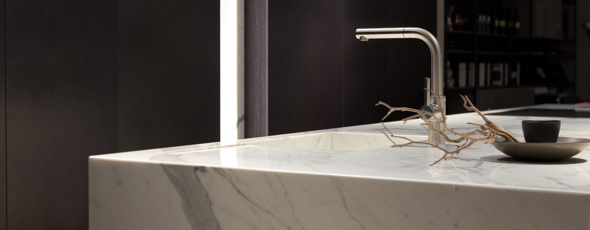 Küche Naturstein Marmor